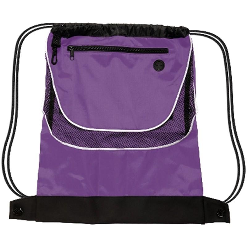 Nylon Drawstring Backpack 27
