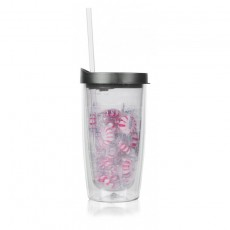 Custom Logo Stuffed Ganado Translucent Tumbler