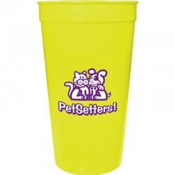 32oz Imprinted Smooth Stadium Cup