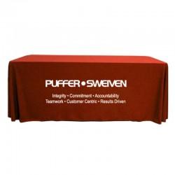 8' Custom Tablecloths - Throw Style