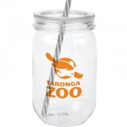 24 oz. Acrylic Mason Jars