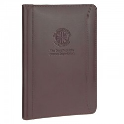 6.5 x 9 Atlantis Leather Junior Zip Portfolio