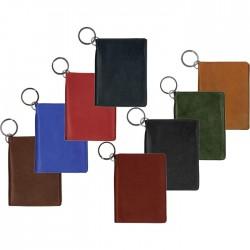 Custom Printed Leather ID Holder