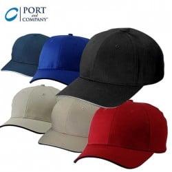 Port & Company® Sandwich Bill Cap