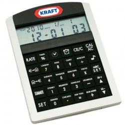 Custom Printed Compact Alarm Clock Calculator