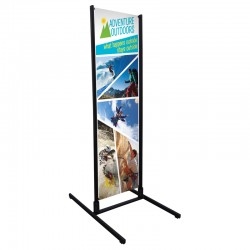 Dual Track Banner Display