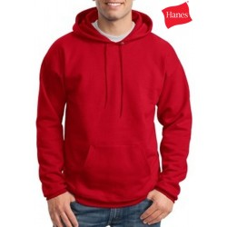 Hanes Cotton Pullover Hooded Sweatshirt