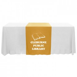 "Personalized Narrow 63"" Table Runner"