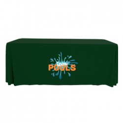 Full Color 4' 3-Sided Table Cover