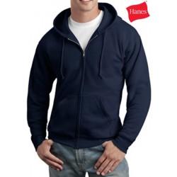 Hanes Comfortblend Full-Zip Hooded Sweatshirt