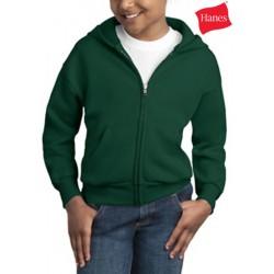 Hanes Youth Comfortblend Zip Hooded Sweatshirt