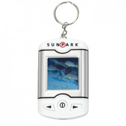 """1.5"""" Promotional Digital Picture Key Chain"""