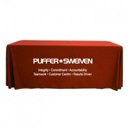 Value 8' Throw Style Table Covers