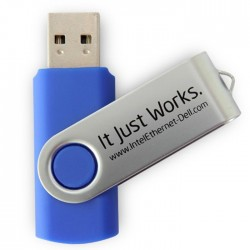 2GB Swivel USB Drive