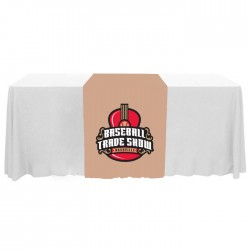 "Full Color Narrow 63"" Table Runner"