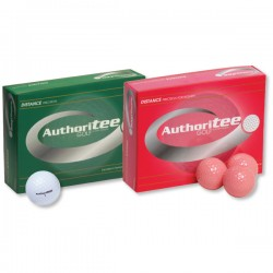 Custom Logo Authoritee Golf Balls