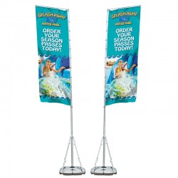 Double-Sided Giant Outdoor Banner Display