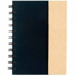Small Spiral Notebook with Sticky Notes & Flags