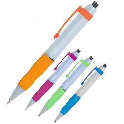 Imprintable Gala Plunger Action Pen