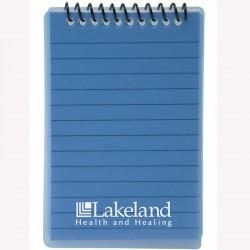Printed Pocket Spiral Notepad