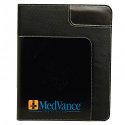 10 x 12.5 Two Tone Promotional Padfolio