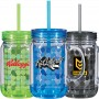 Personalized Color Changing Mason Jar
