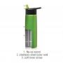 24 oz. Stainless Water Bottle w/ Flip Straw