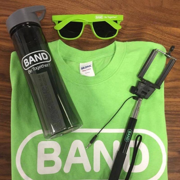 BAND | Custom Selfie Sticks