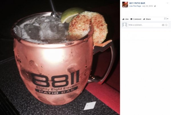 8811 Patio Bar | 20 oz Moscow Mule Mug