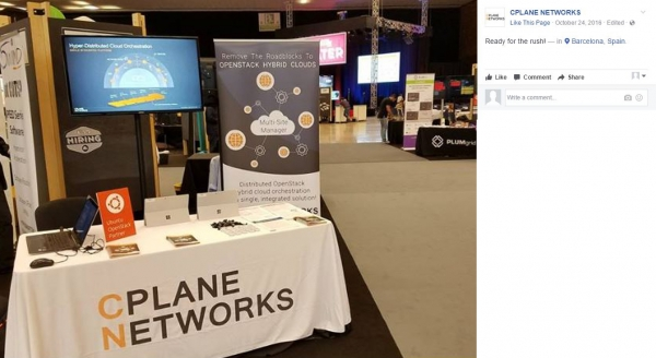 CPlane Networks | Full Color 6' Custom Tablecover