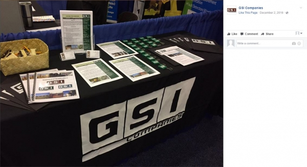 GSI Companies | 6' Custom Tablecloth