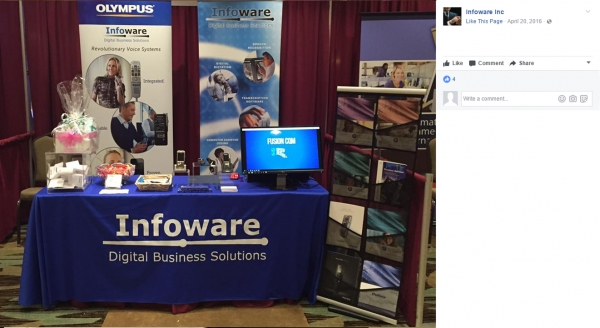 Infoware | 8' Custom Tablecloths