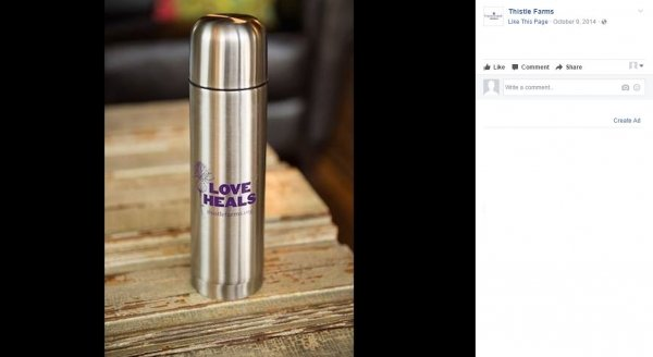 Thistle Farms | 16 oz Custom Thermos