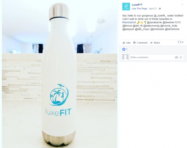 LuxeFit | 26 oz h2go Force