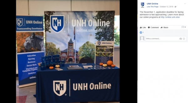UNH Online | 8' Custom Tablecloth