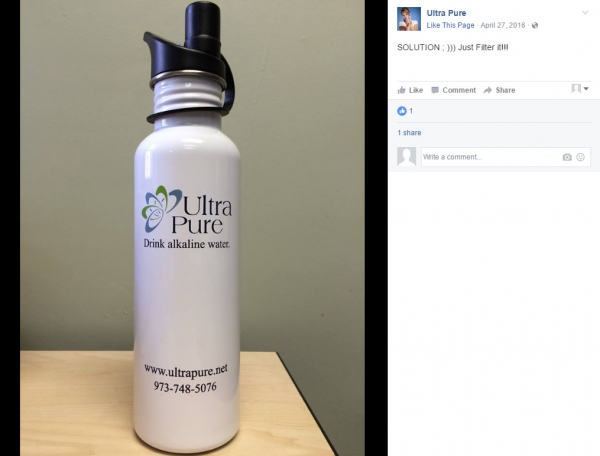 Ultra Pure | 25 oz Stainless Steel Water Bottles