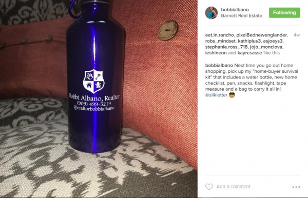 Bobbi Albano | 20 oz Custom Water Bottles