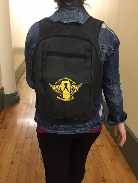 Hairy Fairy Fighters Club | Engage Backpack