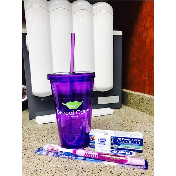 Dental Care Mesa | Acrylic Tumblers